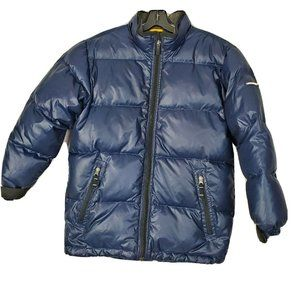 GAP Kids Boys Size 12 XXL Navy Blue Heavy Puffer
